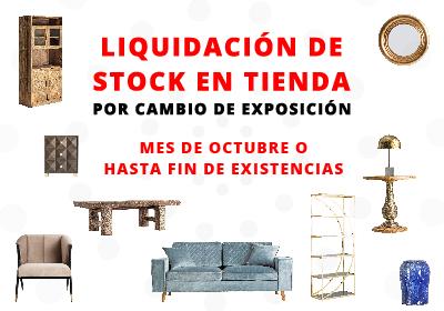 LIQUIDACIÓN DE STOCK EN TIENDA